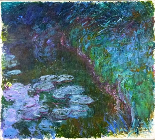 Monet, Claude Oscar, Seerosen (Nymphéas), Öl & Leinwand (Foto: © Rheinisches Bildarchiv Köln, rba_d022393_01)