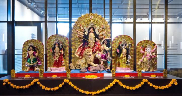 Rautenstrauch-Joest-Museum - Durga-Altar