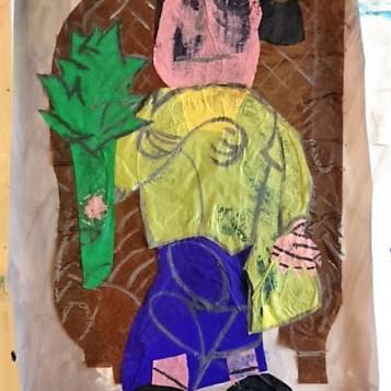 """Fortbildung zu Picassos """"Frau mit Artischocke"""" (Foto: Karin Rottmann, Museumsdienst Köln)"""
