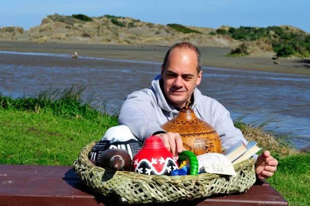 Der neuseeländische Schriftsteller Glenn Colcquhoun (Foto: Autor)