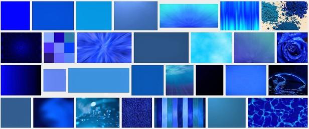 Google zu Blau