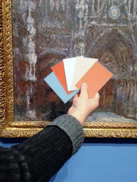"Fortbildung ""In Monets Werkstatt"" (Foto: KArin Rottmann, Museumsdienst Köln)"