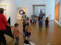 Kita-Besuch im Museum Ludwig (Foto: Museumsdienst Köln)