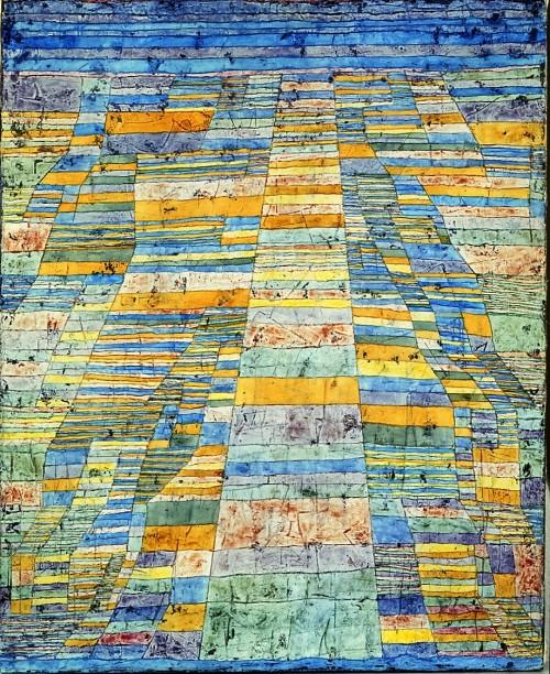Klee, Paul, Hauptweg und Nebenwege, Öl & Leinwand, 1929 (Köln, Museum Ludwig, ML 76/3253.  (Foto: © Rheinisches Bildarchiv Köln, rba_d000109)