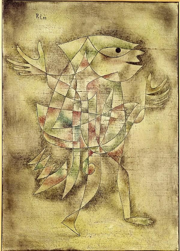 Klee, Paul, Narr in Trance, Öl & Leinwand, 1929 (Köln, Museum Ludwig, ML 76/3041.  (Foto: © Rheinisches Bildarchiv Köln, rba_c000251)