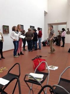Fortbildung im Rahmen des Koala-Programms (Foto: Museumsdienst Köln)