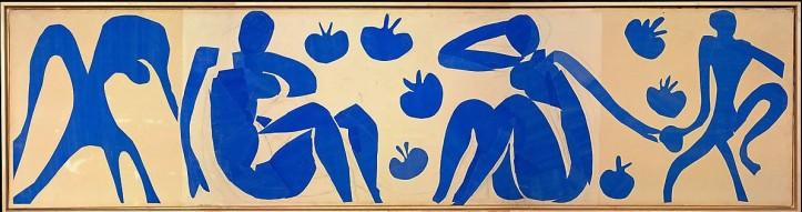 Matisse, Henri, Femme et singes, Collage & Scherenschnitt, Deckfarbe & Bleistift & Papier, 1952 (Köln, Museum Ludwig, Dep. Slg. L. 1985/010.  (Foto: © Rheinisches Bildarchiv Köln, Schlier, Britta, rba_d016269)