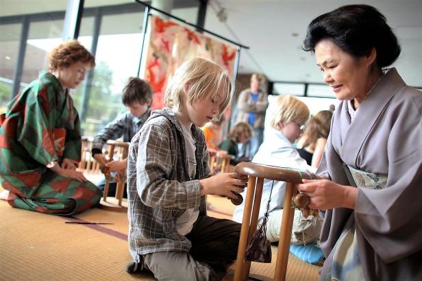 Kinder im Museum für Ostasiatische Kunst17.05.2009 (C) Thilo Schmülgen