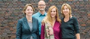 Alexa Schink, Björn Föll, Christine Wolf und Anja Hild