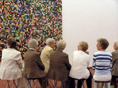 Seniorentreff im Museum Ludwig (Foto: Museumsdienst Köln)