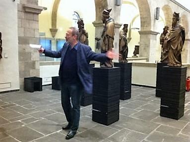 Ulrich Bock im Museum Schnütgen (Foto: Museumsdienst Köln)