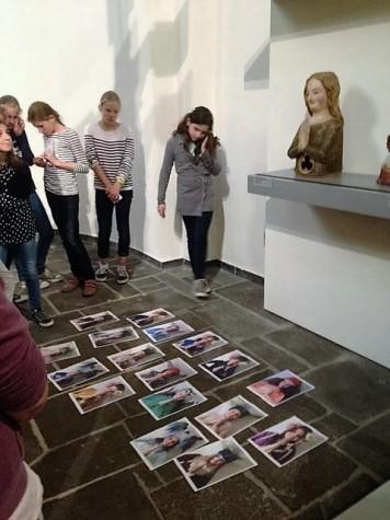 Projekt der Ursulinenschule im Museum Schnütgen (Foto: Museumsdienst Köln)