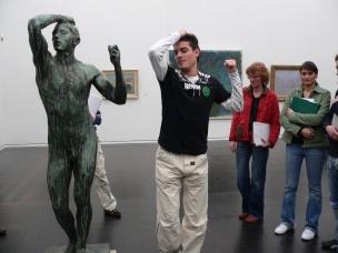 Im Wallraf-Richartz-Museum (Foto: Museumsschule)