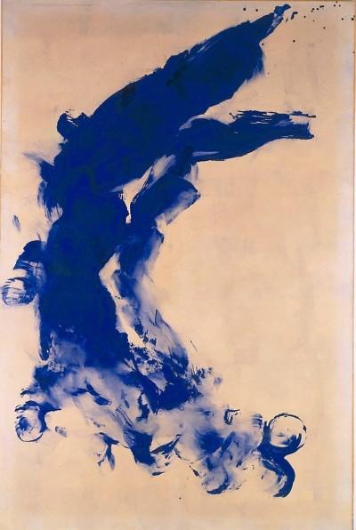 Klein, Yves, Anthropométrie: ANT 130, Körperabdruck, Pigment & Kunstharz & Papier & Leinwand (Foto: © Rheinisches Bildarchiv Köln, rba_c010931)