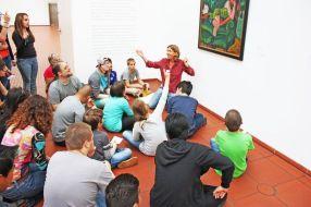 Hand in Hand ins Museum: Bei den Expressionisten im Museum Ludwig (Foto: Museumsschule Köln)