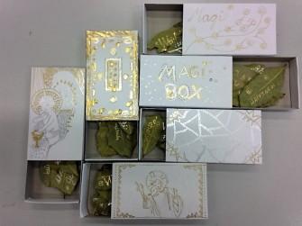 Magi Box:es mit Lorbeerblättern (Foto: Museumsdienst Köln)