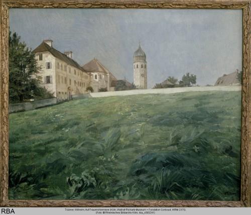 Trübner, Wilhelm, Auf Frauenchiemsee, Öl & Leinwand, um 1891 (Köln, Wallraf-Richartz-Museum + Fondation Corboud, WRM 2375.  (Foto: © Rheinisches Bildarchiv Köln, rba_c000241)