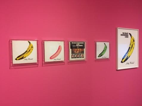 """Das legendäre """"Bananen-Cover"""" in verschiedenen Editionen. The VelvetUnderground and Nico (1967)"""
